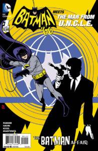 BATMAN Meets The MAN from U.N.C.L.E. #1 main cover