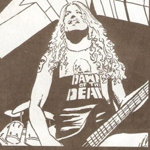ROCK & ROLL BIOGRAPHIES #4 Dawn of the Dead tee