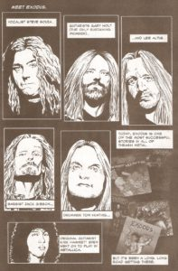 ROCK & ROLL BIOGRAPHIES #4 introducing Exodus