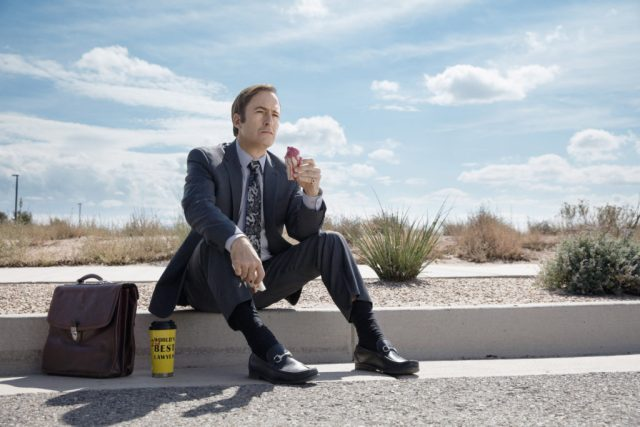 Bob Odenkirk as Jimmy McGill - Better Call Saul _ Season 2, Gallery- Photo Credit: Ben Leuner/AMC