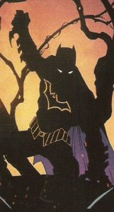 BATMAN #50 scary silhouette