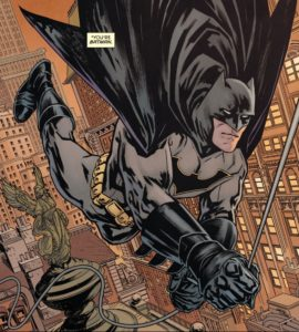 BATMAN #50 swing of things