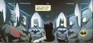 BATMAN #50 what to wear