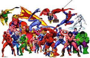 John Buscema - Marvel Universe