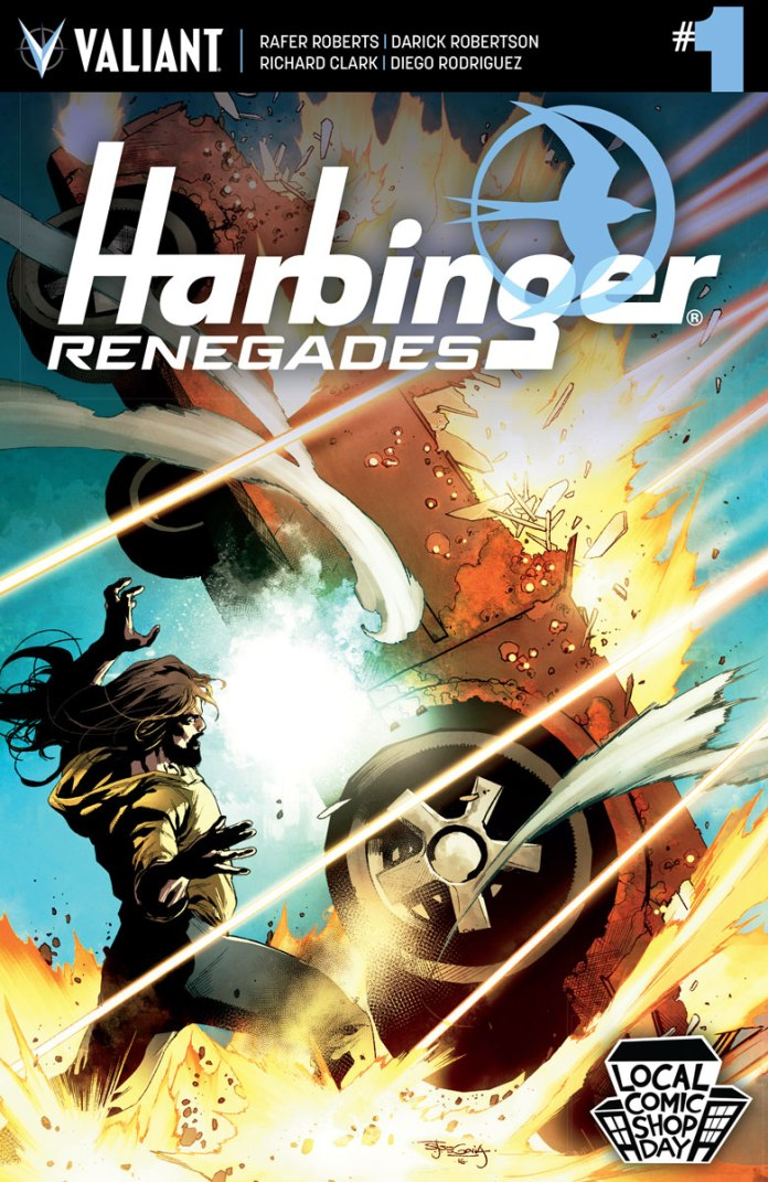 HARBINGER RENEGADES #1 – Local Comic Shop Day Variant by Stephen Segovia