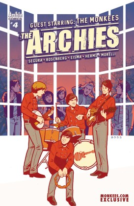 The Archies #4_Cover_MonkeesExclusive
