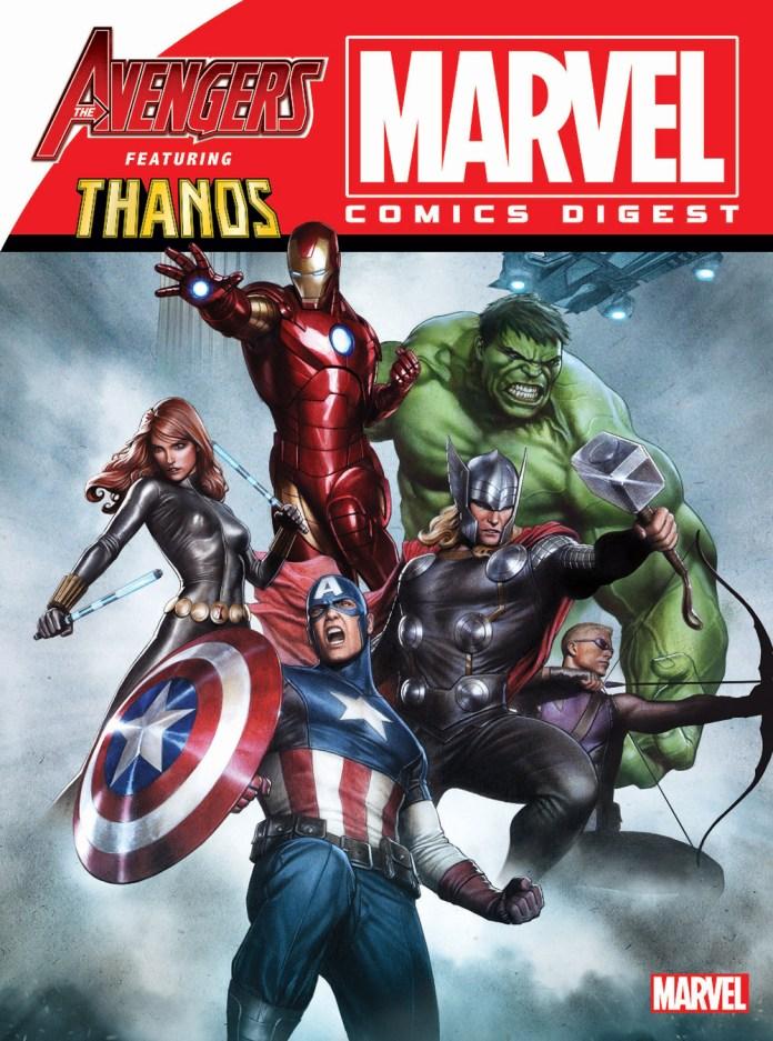 MARVEL COMICS DIGEST #6 AVENGERS VS. THANOS