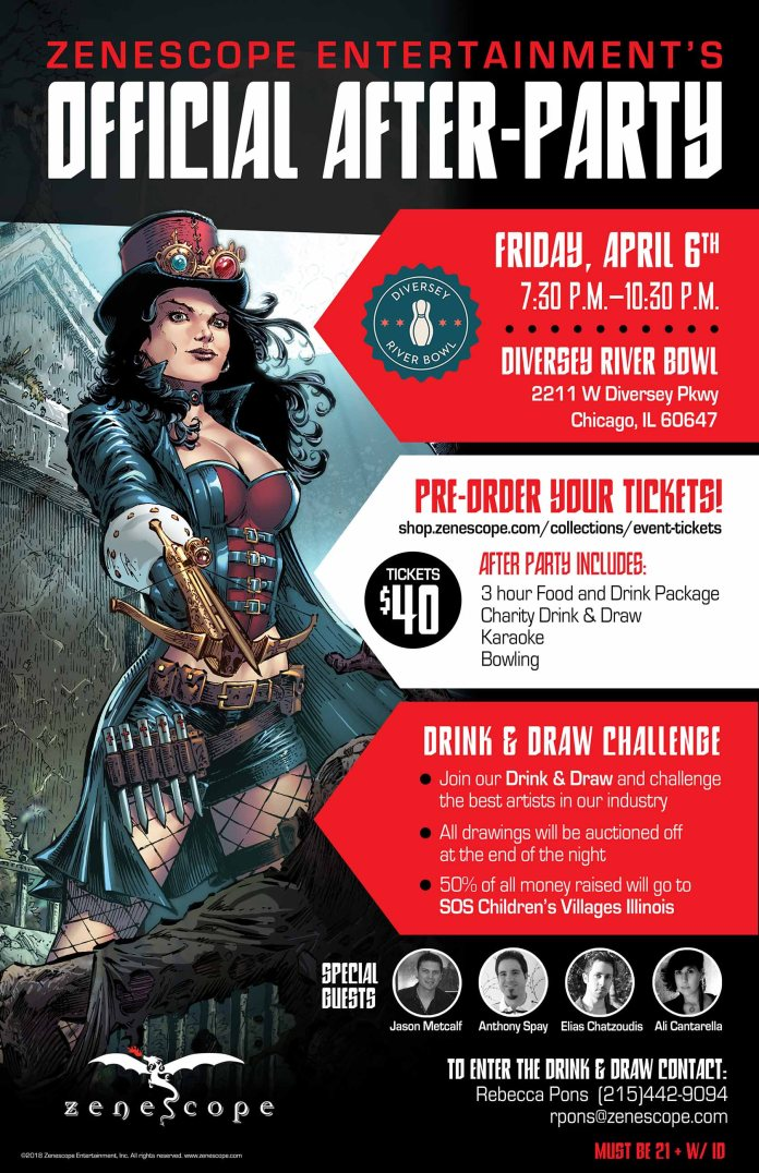 Zenescope Announces C2E2 Plans and After Party Event - Comix Asylum
