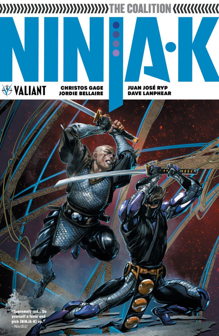NINJA-K VOL. 2: THE COALITION TPB