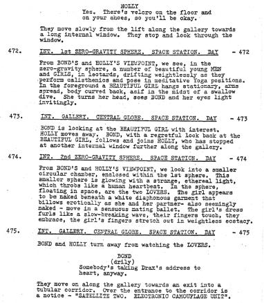 Moonraker script lovechamber
