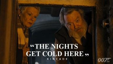 Les nuits sont froides ici