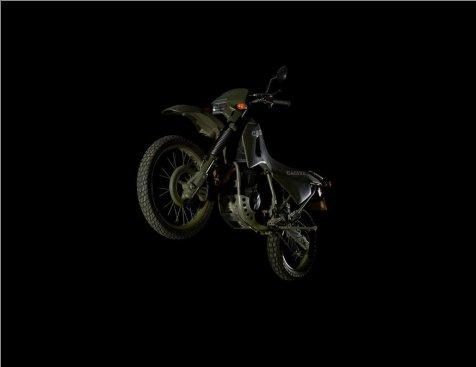 La moto de Goldeneye