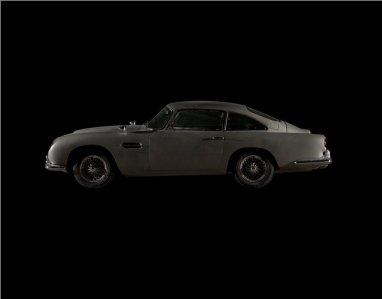 L'Aston Martin DB5 de Skyfall