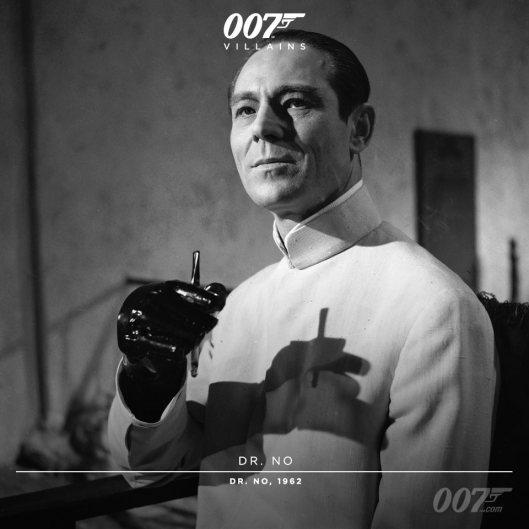 Dr No (Joseph Wiseman) - 1962