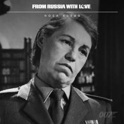 Rosa Klebb (Lotte Lenya) - Bons Baisers de Russie - 1963