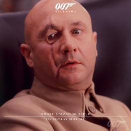 Ernst Stavro Blofeld (Donald Pleasance) - On ne vit que deux fois 1966