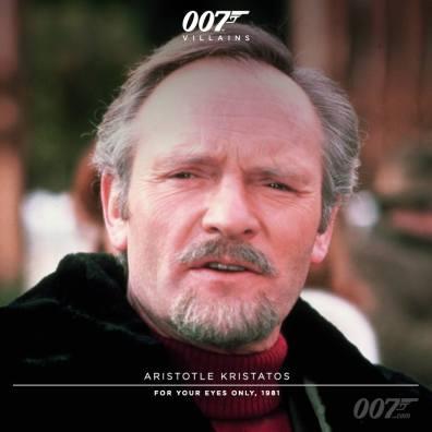 Aris Kristatos (Julian Glover) - Rien que pour vos yeux 1981