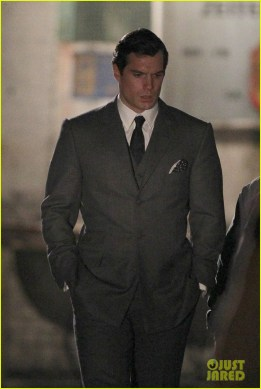 sur le tournage de The Man from U.N.C.L.E
