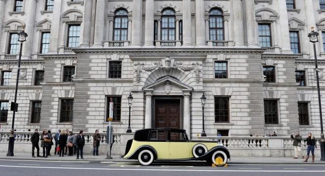 La Rolls Royce Phantom III de Goldfinger