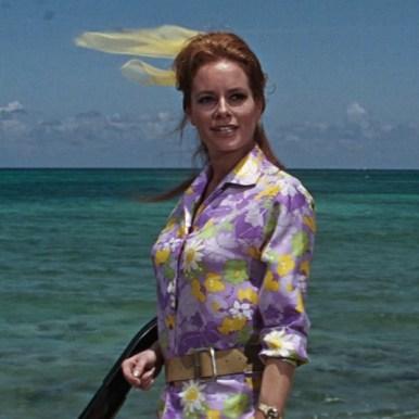 Luziana Paluzzi (Fiona Volpe) OpérationTonnerre