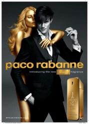 Publicité de Paco Rabanne