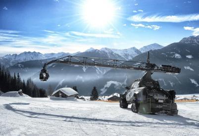 Tournage en Autriche le 9 février