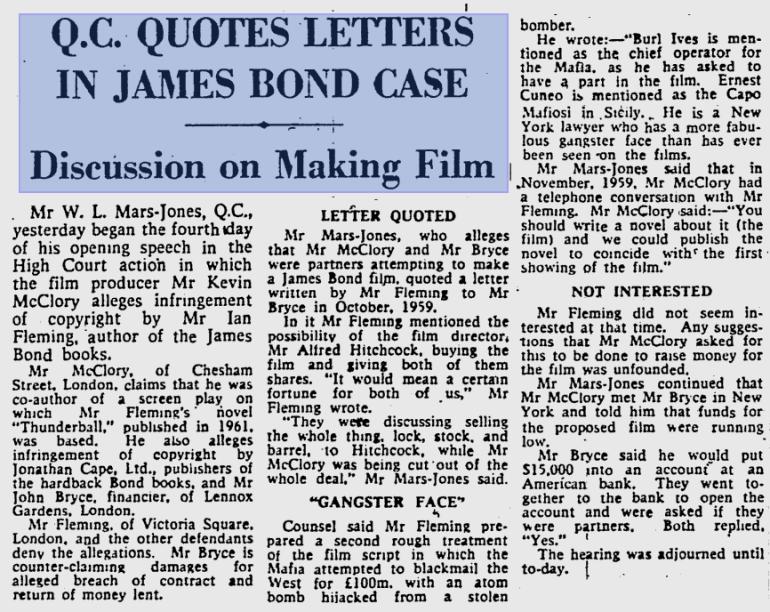 The Glasgow Herald - 26 novembre 1963