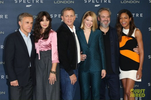 James Bond Spectre photocall