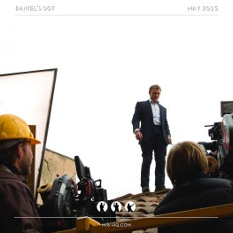 Behind the scenes on Quantum of Solace #danielcraig #jamesbond