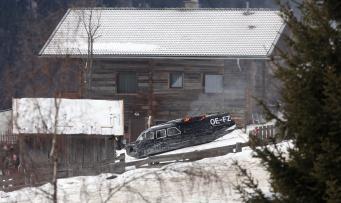 James Bond 007, Dreharbeiten in Obertilliach, 15.Januar.2015, Daniel Craig Foto: Daniel Raunig