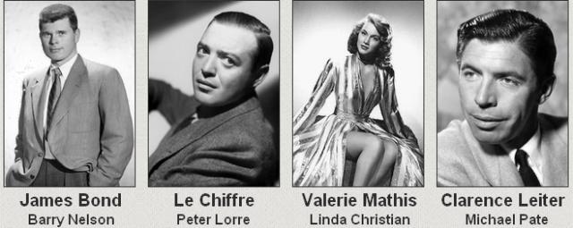 Casting Casino Royale 1954