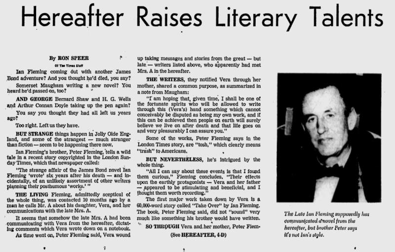 Extrait du numéro du 2 août 1971 du St. Petersburg Times.