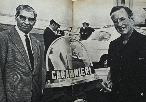 Lucky Luciano et Ian Fleming