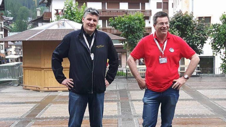 Les présidents des Club James Bond Allemagne et Suisse