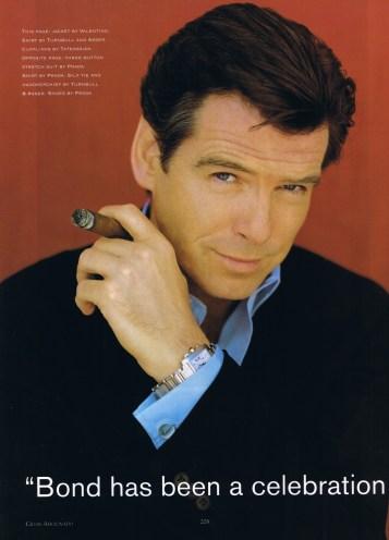 Publicité après l'ère James Bond de Pierce Brosnan