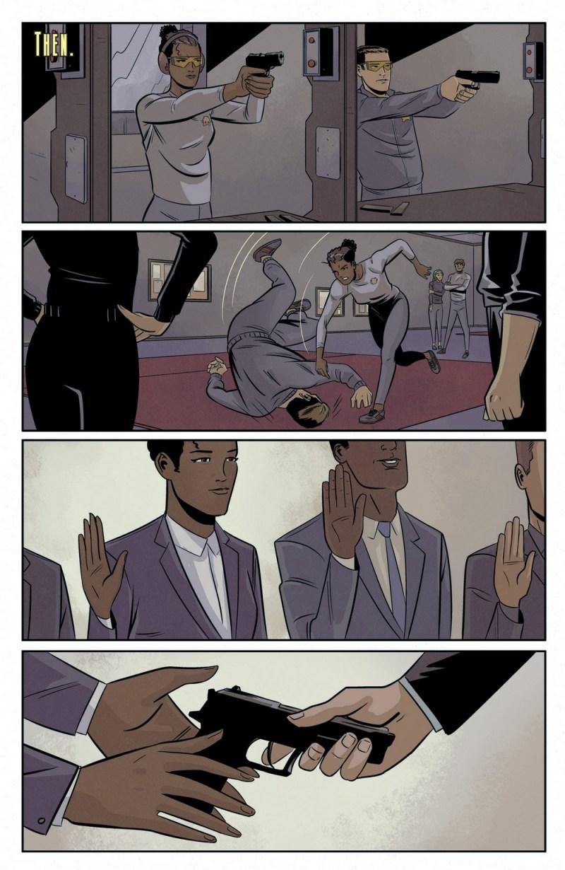 Moneypenny comics 6