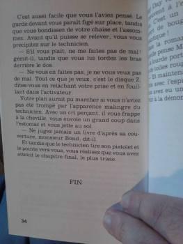 Livre héros James Bond (5)