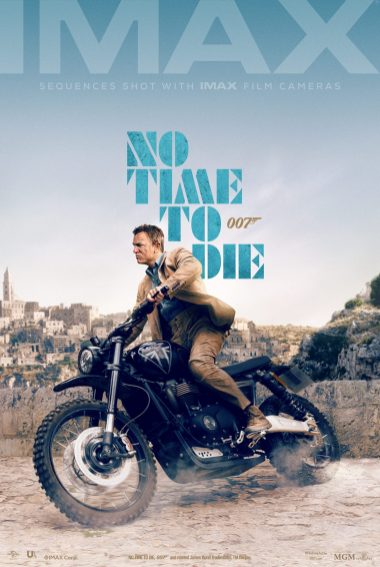 No Time To Die poster Imax