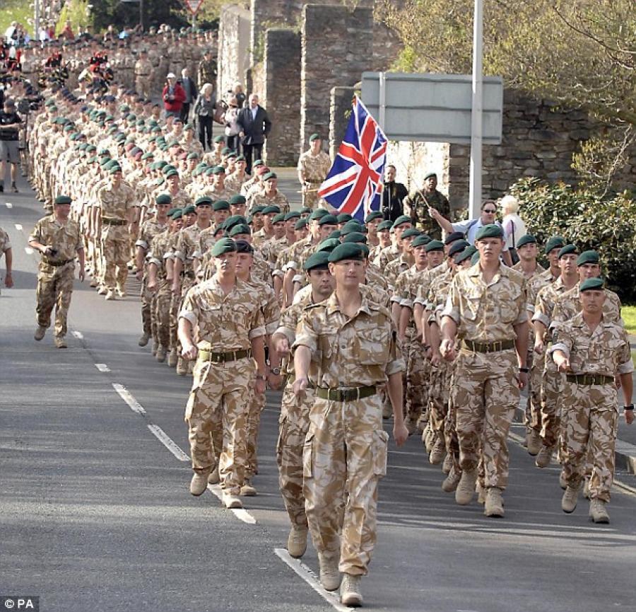 29 Commando Gunners