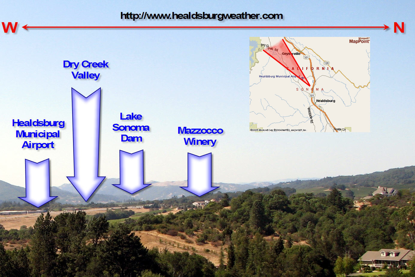Realtime Live Cam Paradise USA California Webcams