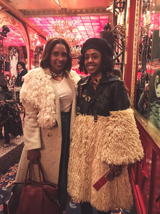 top dc blogger Jennifer of Comme Coco with beauty editor Nicole Chapoteau haitians in fashion_