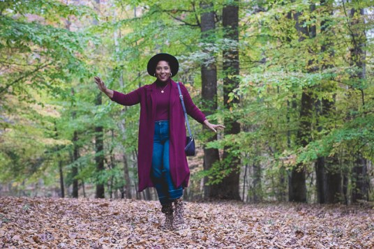 Top DC curvy style blog wearing fall trends leopard-8