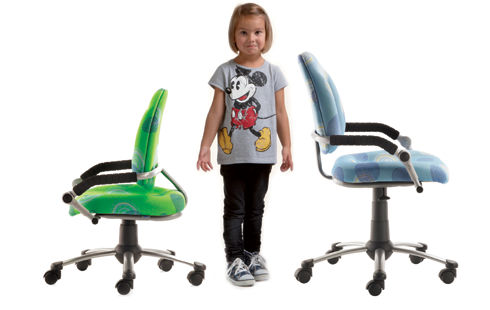 chaise-bureau-enfant accoudoir