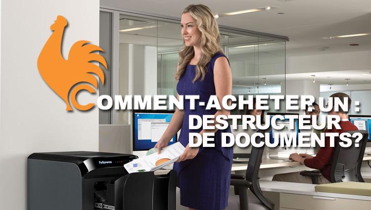 Destructeur de documents – Guide pour choisir le meilleur