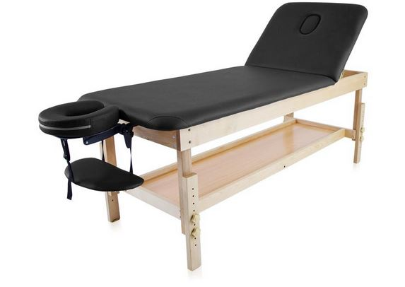 table-de-massage-fixe-en-bois TETIERE