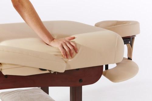 table-massage epaisseur matelas