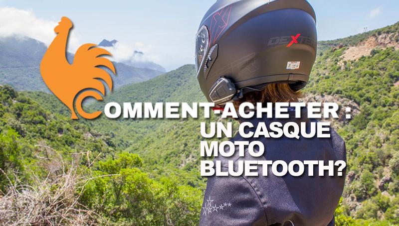 Casque moto Bluetooth – Guide d'achat pour choisir le meilleur