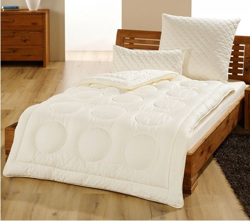 taille lit couette naturelle