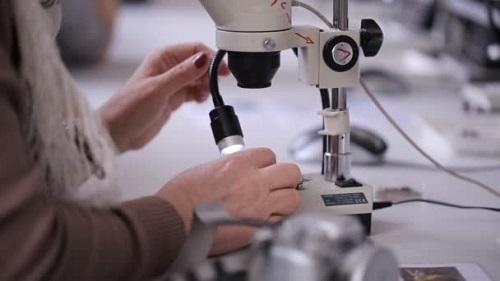 Acheter test microscope preparation
