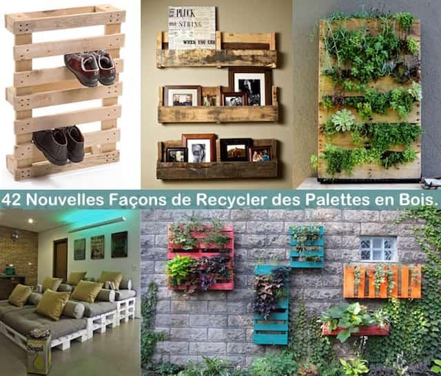 42 Nouvelles Faons De Recycler Des Palettes En Bois